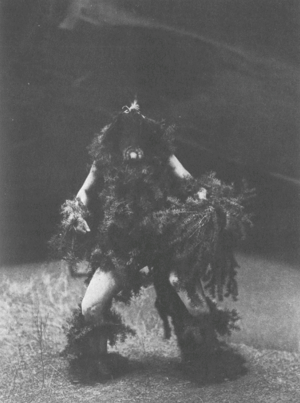 8. Tóneili - Navaho From Copyright Photograph 1904 by E.S. Curtis Tónen-l-, Water Sprinkler, is the Rain God of the Navaho. He it is who sends the rain, the hail, and the snow, and causes thunder and lightning. The personator of this god in the ceremonies